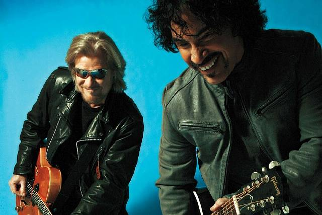 Hall and Oates perform Wednesday and March 22-23 at the Colosseum at Caesars Palace. (Courtesy)