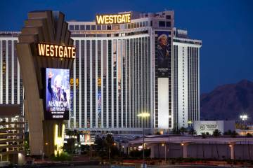 The Westgate in Las Vegas (Richard Brian/Las Vegas Review-Journal) @vegasphotograph