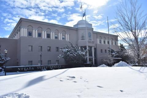 The Legislative Building in Carson City (Las Vegas Review-Journal)
