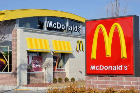 McDonald's has 77 restaurants in Las Vegas. (Getty Images)