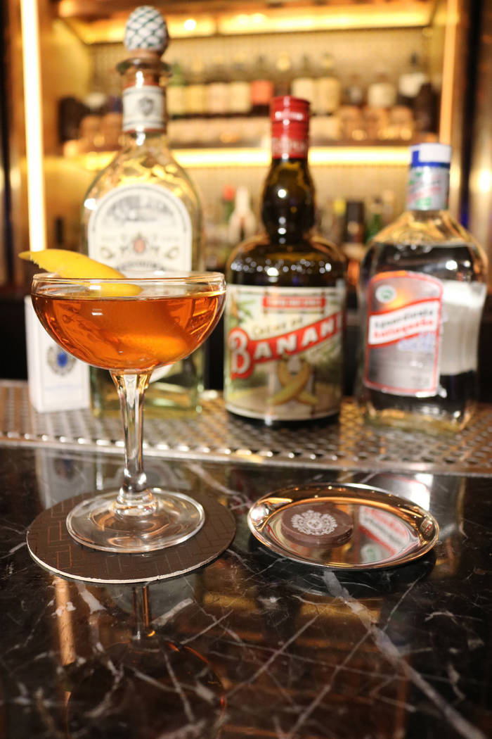 The Last Fortress is on Rosina's secret Manhattan and chocolate menu. (Janna Karel/Las Vegas Review-Journal)