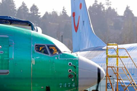 U.S. prosecutors are looking into the development of Boeing's 737 Max jets, a person briefed on the matter revealed Monday. (AP Photo/Ted S. Warren, file)