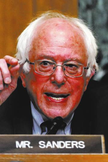 Sen. Bernie Sanders, I-Vt. (AP Photo/Carolyn Kaster)