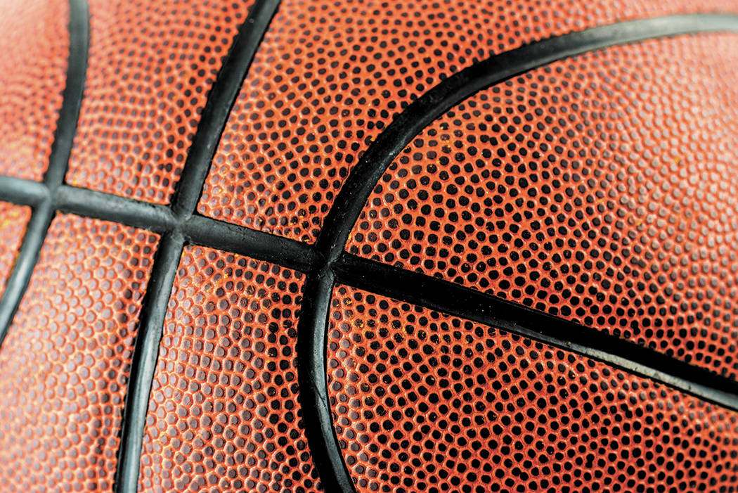 Getty Images Closeup of basketball