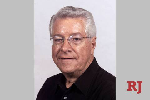 Richard Bunker, seen in June 2002. (Las Vegas Review-Journal)