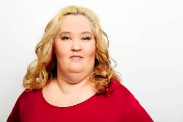 In this Dec. 3, 2015 file photo, June Shannon, better known as Mama June, poses for a portrait in New York. Shannon has been arrested on drug charges in Alabama. (Photo by Dan Hallman/Invision/AP, ...