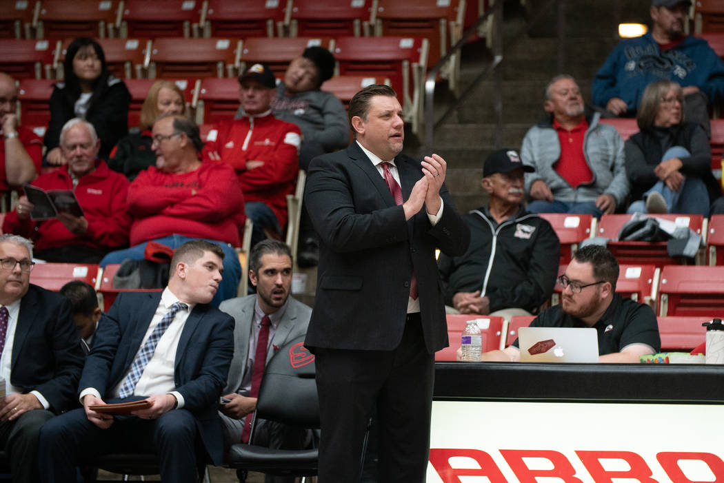 Former UNLV assistant coach Todd Simon has guided Southern Utah to its second postseason appearance in 31 seasons as a Division I member. The Thunderbirds will host Missouri Valley Conference co-c ...