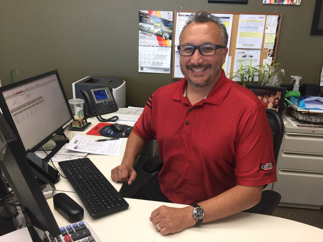 Findlay Toyota Finance Director Anthony Velardi will be competing for Man of the Year honors at the annual Leukemia & Lymphoma Society May 17 at the Rio. (Findlay)