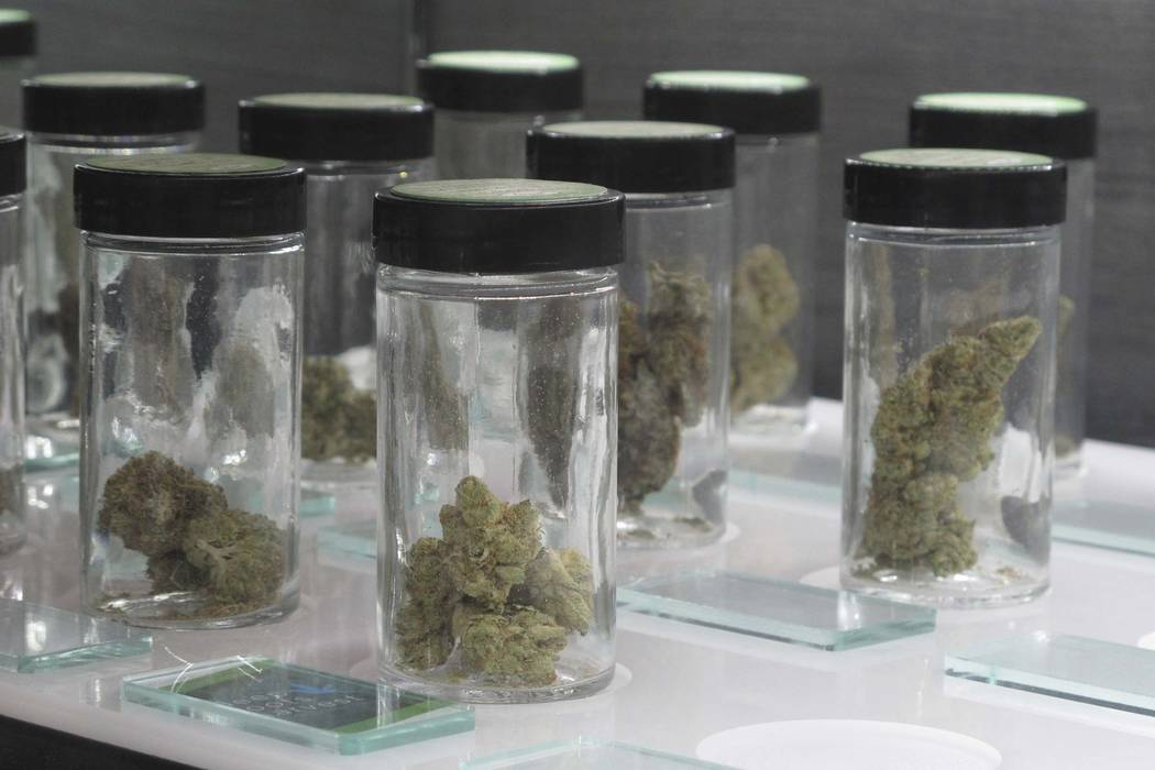 Different strains of marijuana (Scott Sonner/AP)