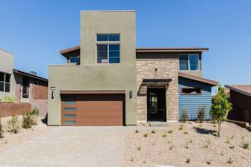 Pardee Homes' Terra Luna in the Cliffs Village in Summerlin has a limited number of move-in-ready homes, including this Plan Two at homesite No. 52. (Pardee Homes)