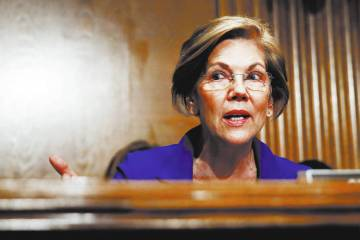 Sen. Elizabeth Warren, D-Mass. (AP Photo/Carolyn Kaster)