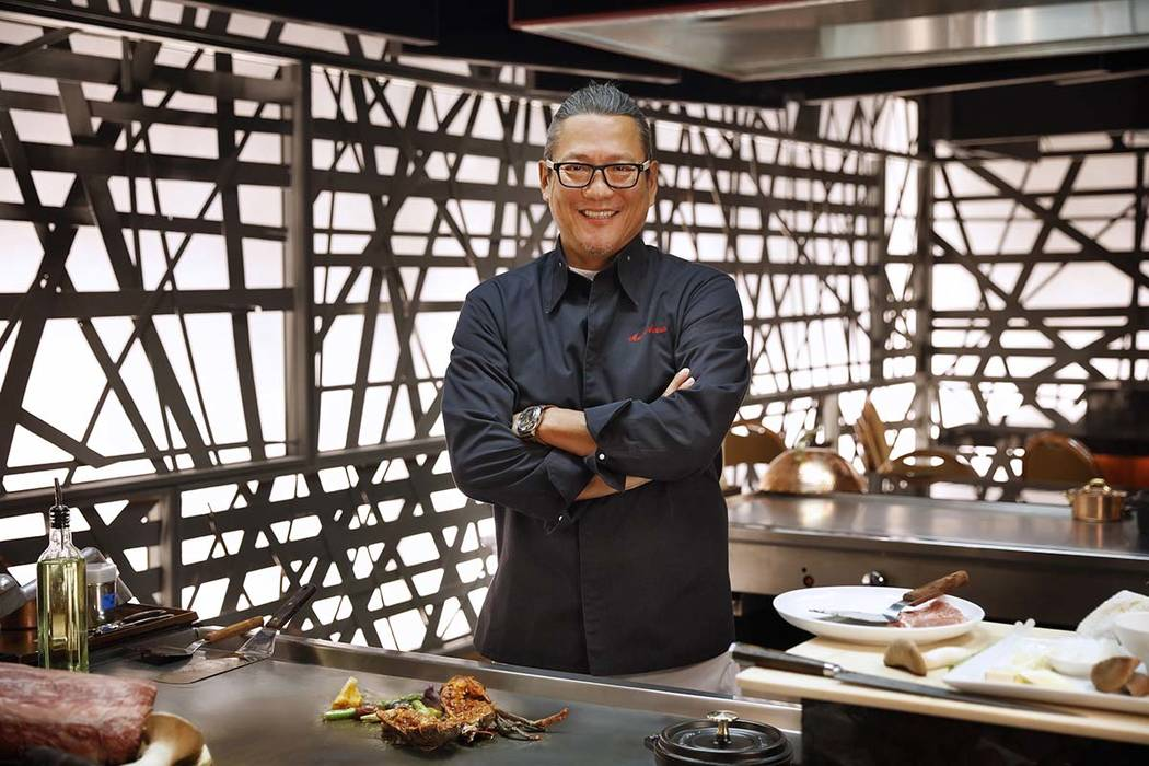 Chef Masaharu Morimoto at Teppan Table (MGM Resorts International)