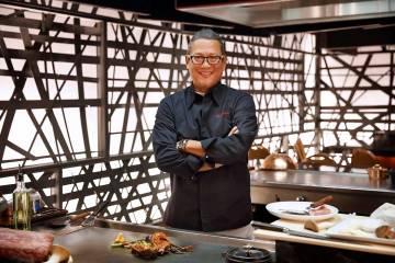 ChefMasaharuMorimotoat Teppan Table (MGM Resorts International)