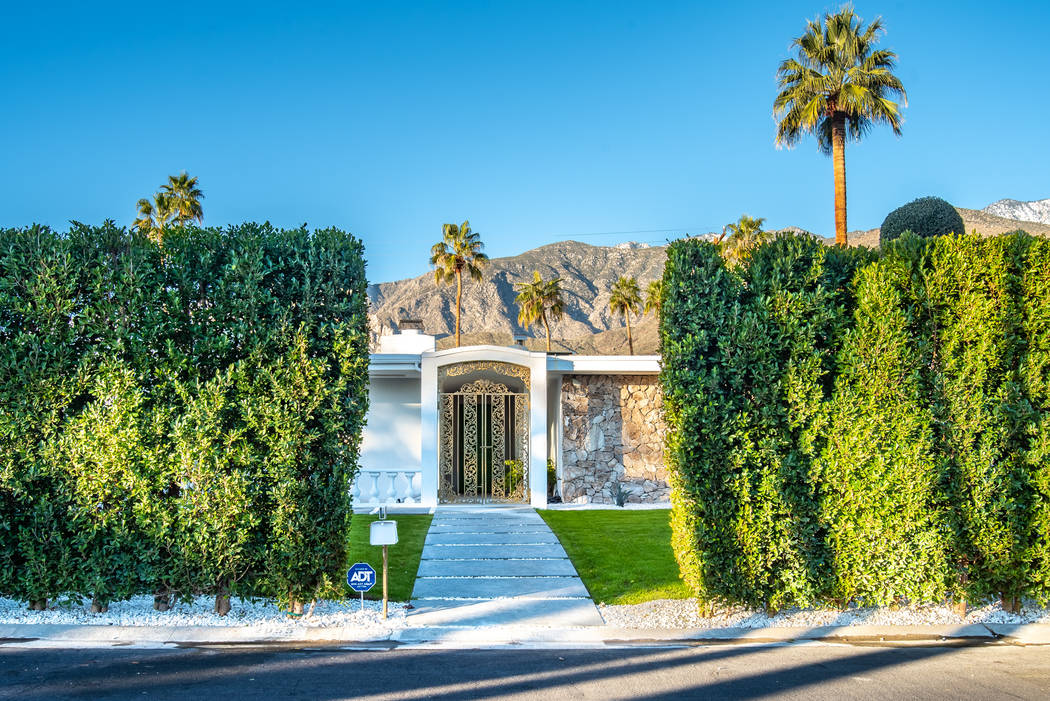 The home is at 2055 Joshua Tree Place in Palm Springs. (Berkshire Hathaway HomeServices California Properties)