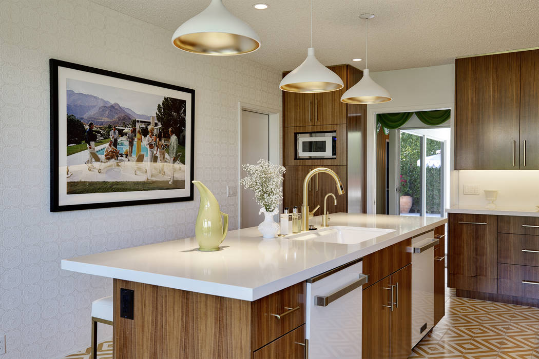 The kitchen has been remodeled. (Berkshire Hathaway HomeServices California Properties)