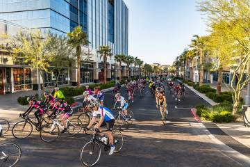 Tour de Summerlin is an annual cycling event, now in its 18th year, that offers 20-mile, 40-mile and 80-mile courses.