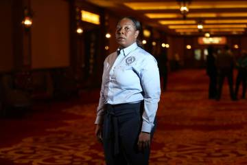 Henderson Police Department Chief LaTesha Watson at Southpoint hotel-casino in Las Vegas, Wednesday, Nov. 7, 2018. Erik Verduzco Las Vegas Review-Journal @Erik_Verduzco
