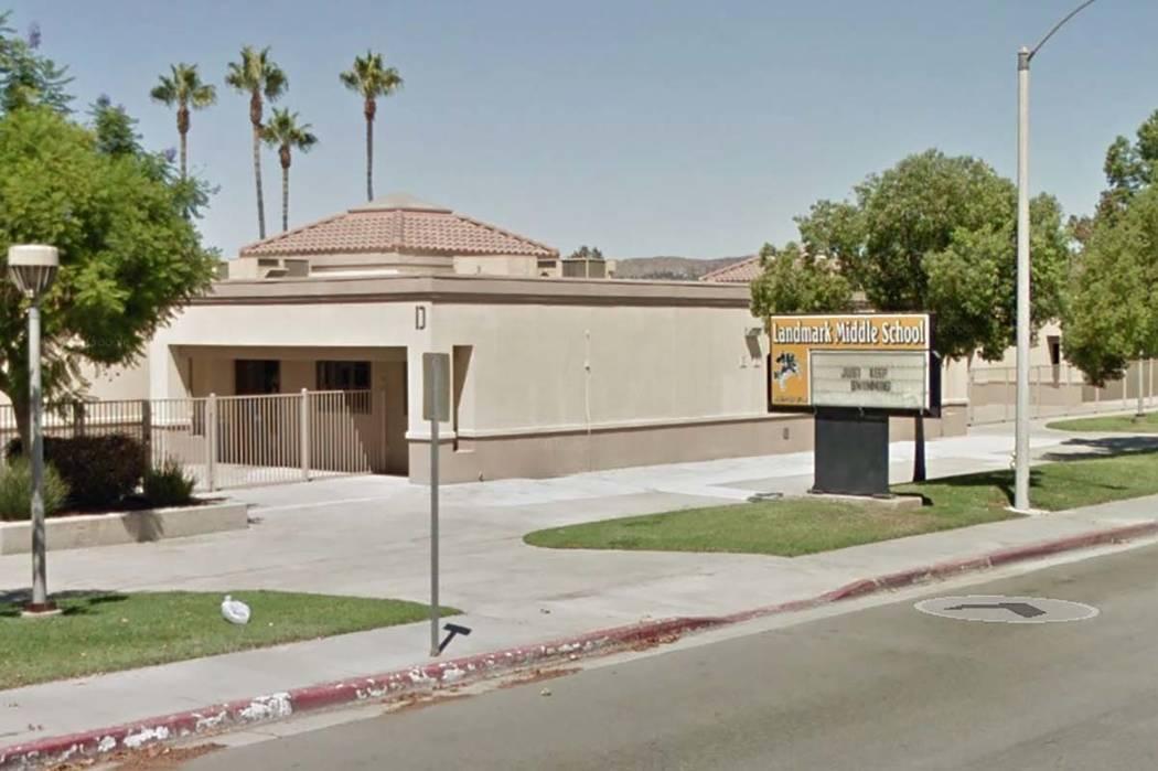 Landmark Middle School (Google)