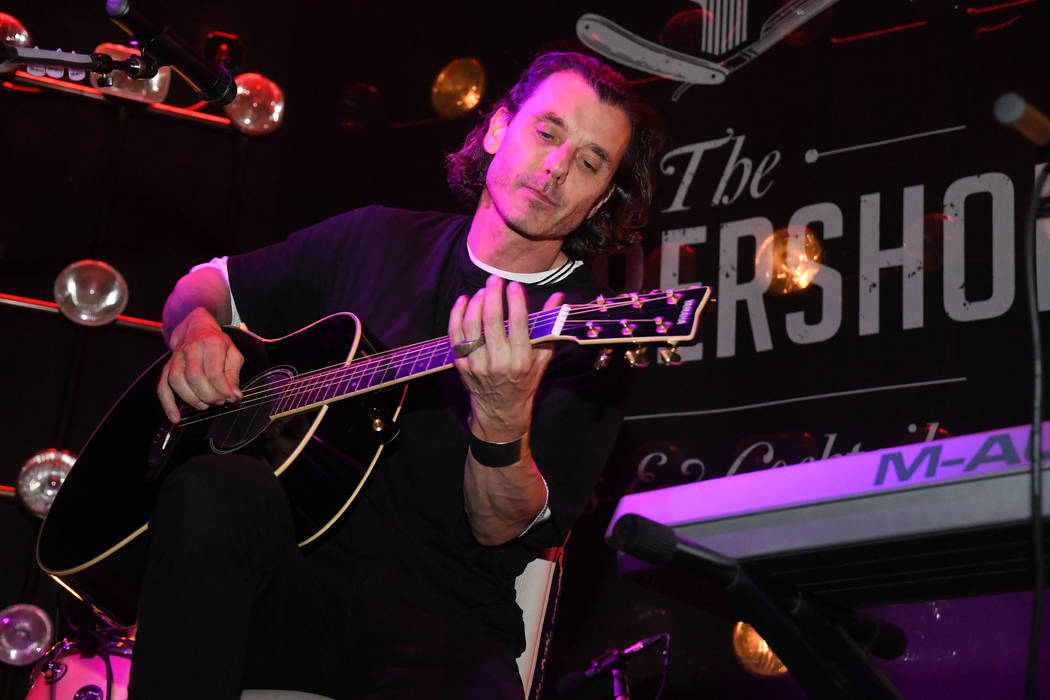 Bush, led by Gavin Rossdale, performs at The Barbershop Cuts and Cocktails at the Cosmopolitan of Las Vegas on Saturday, March 16, 2019. (Michael Simon/startraksphoto.com)