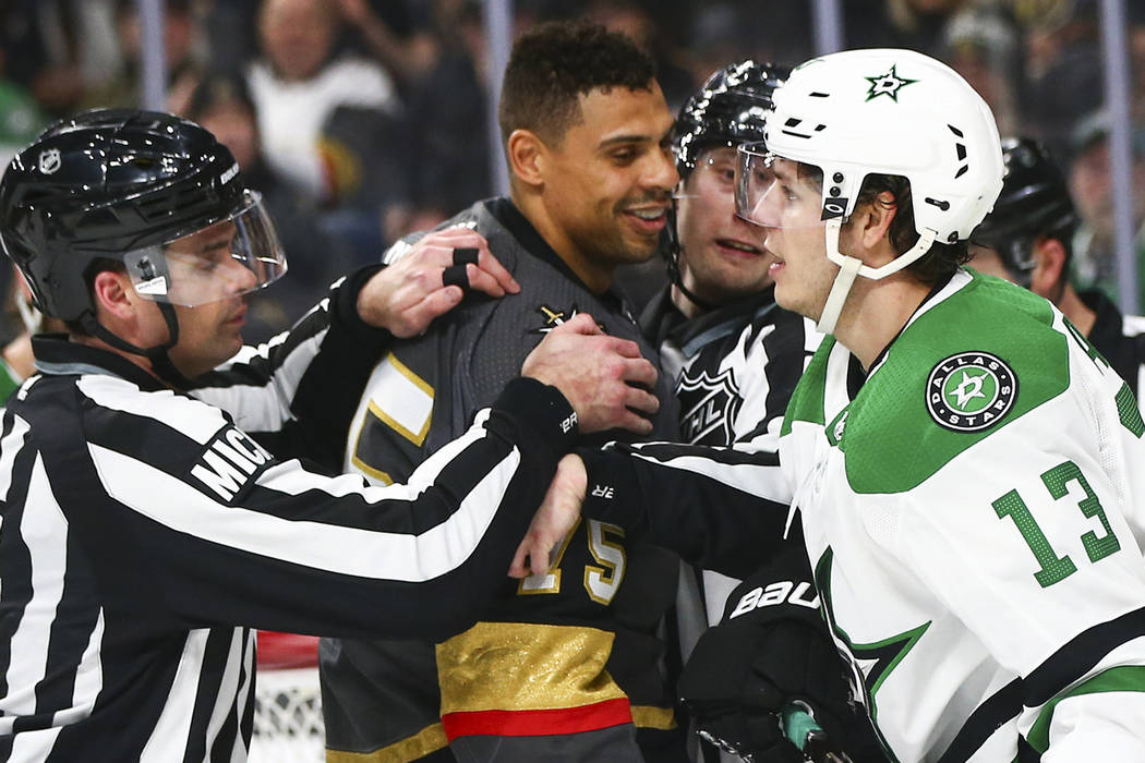 promo code b09ee 4f6e7 Golden Knights' Ryan Reaves ranks among NHL's best trash ...