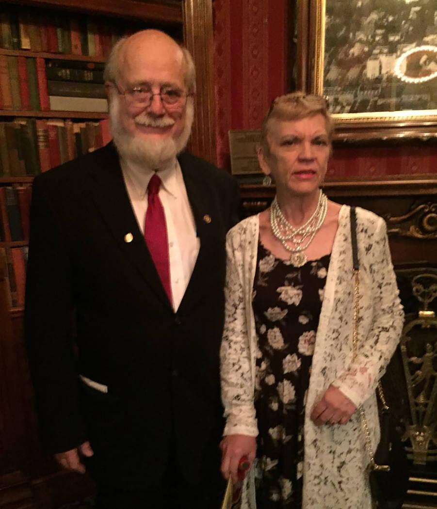Dr. Thomas Burchard and girlfriend Judy Earp (Courtesy)