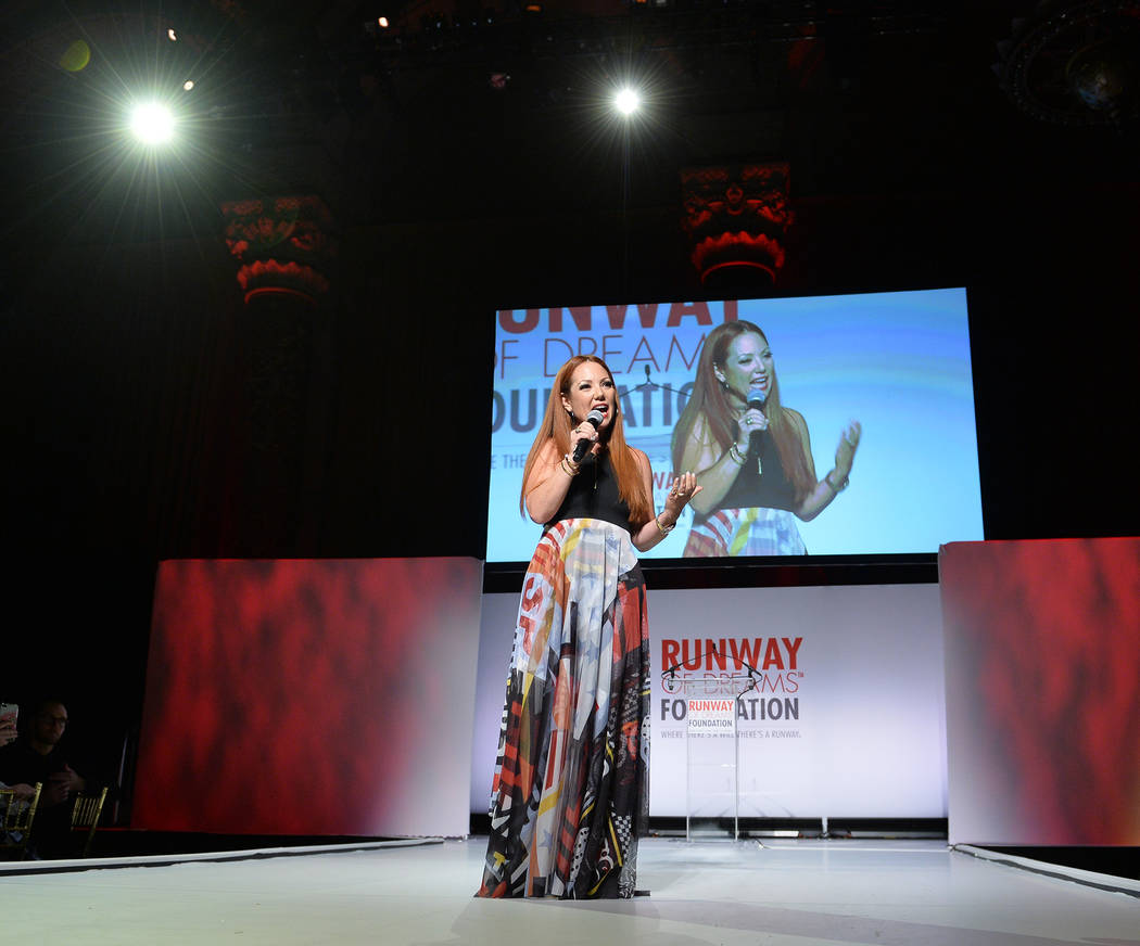 Runway of Dreams Founder and President Mindy Scheier speaks onstage during the Runway Of Dreams Foundation Fashion Revolution Event at Cipriani 42nd Street on September 5, 2018 in New York City. ...