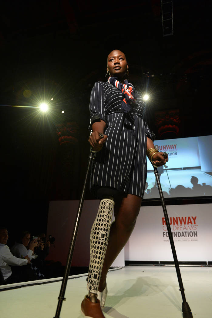 The Runway Of Dreams Foundation Fashion Revolution Event at Cipriani 42nd Street on September 5, 2018 in New York City. (Noam Galai/Getty Images)