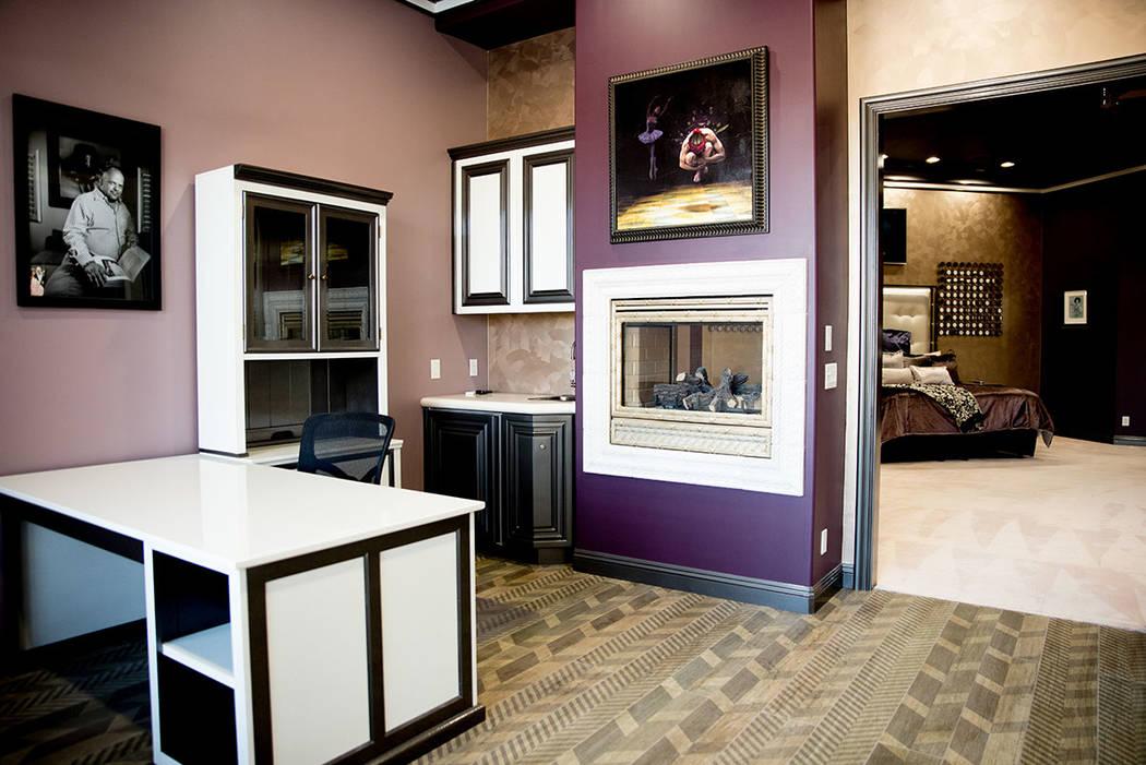 A desk area off the master bedroom. (Tonya Harvey Real Estate Millions)