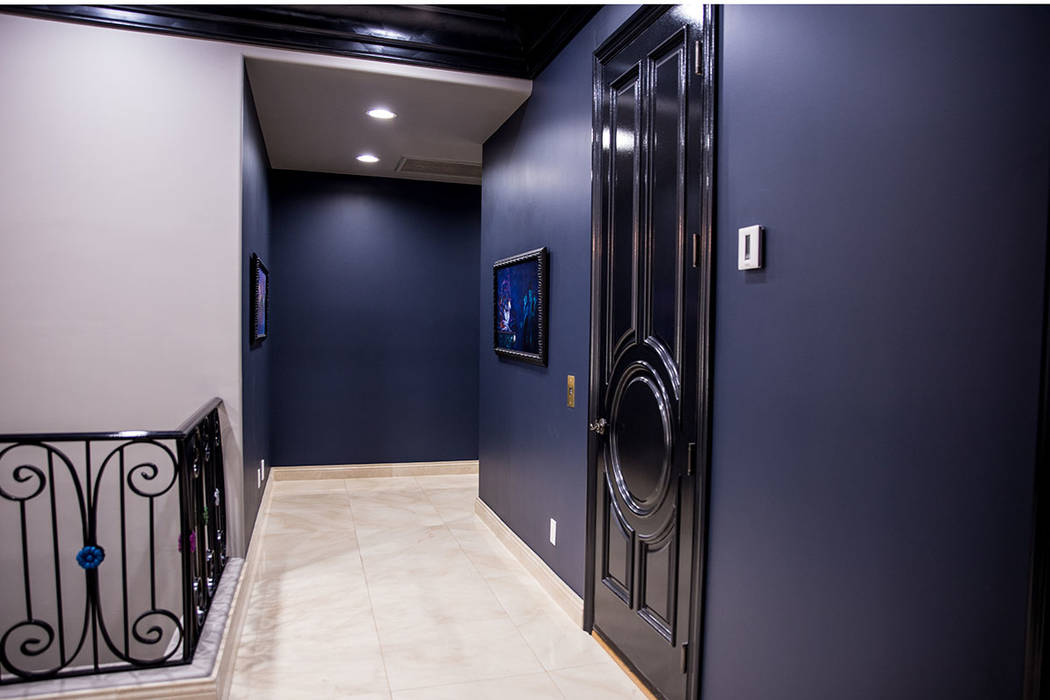 Most of the doors in the home are coated in automotive paint. (Tonya Harvey Real Estate Millions)