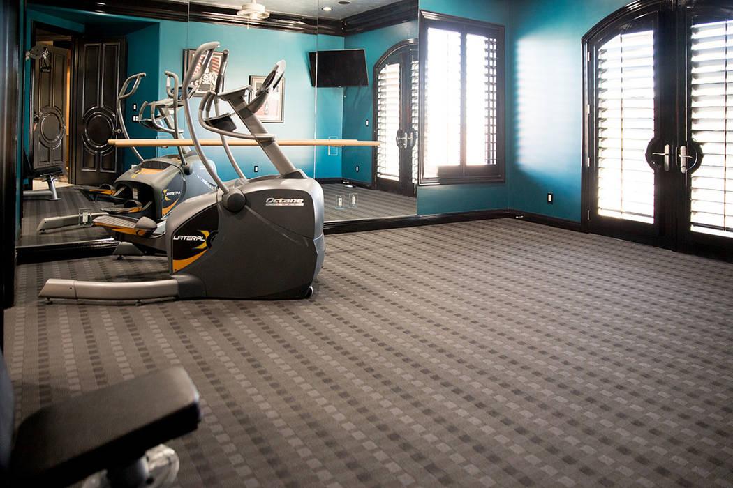 The gym. (Tonya Harvey Real Estate Millions)