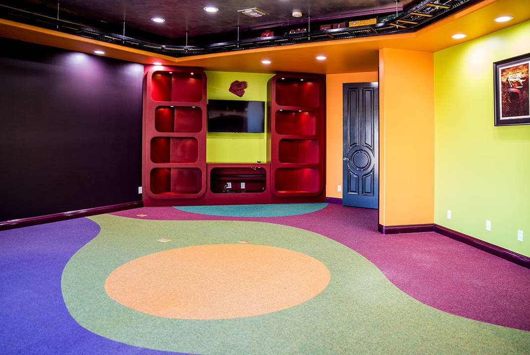 A colorful game room. (Tonya Harvey Real Estate Millions)