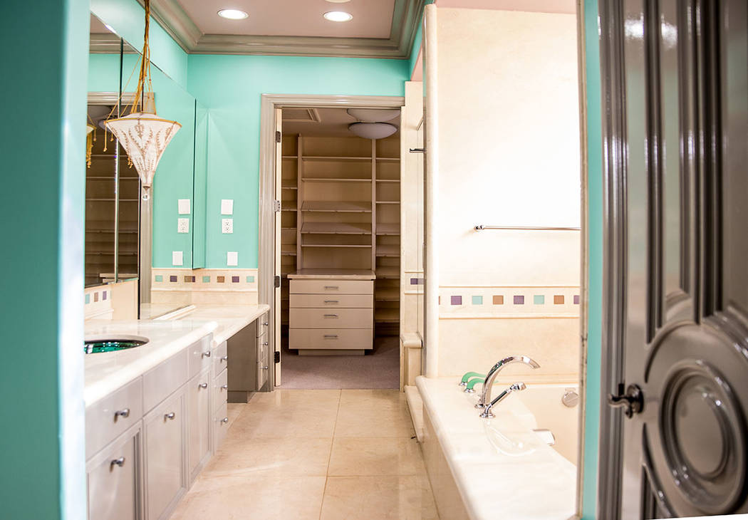 A secondary bath with closet. (Tonya Harvey Real Estate Millions)