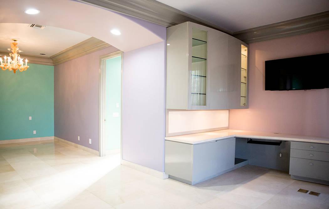 The home has plenty of office areas. (Tonya Harvey Real Estate Millions)