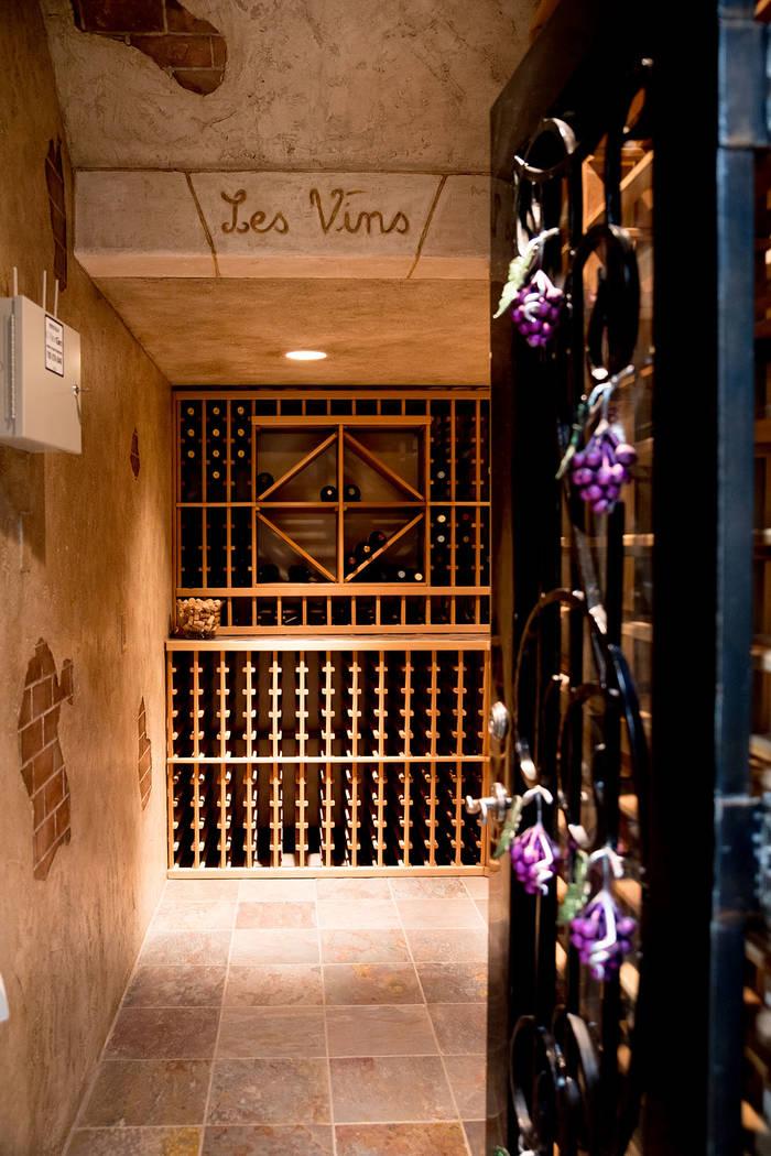 The wine cellar. (Tonya Harvey Real Estate Millions)
