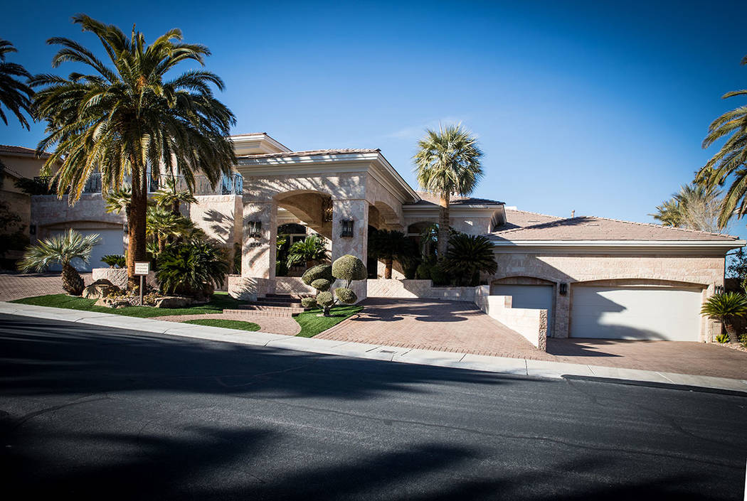 """Rick Harrison, the star of """"Pawn Stars"""" on the History Channel, has listed his Red Rock Country Club for $3.99 million. (Tonya Harvey Real Estate Millions)"""