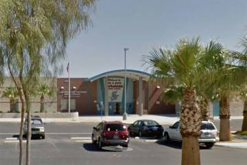 Tarkanian Middle School, 5800 W. Pyle Ave. (Google Street View)