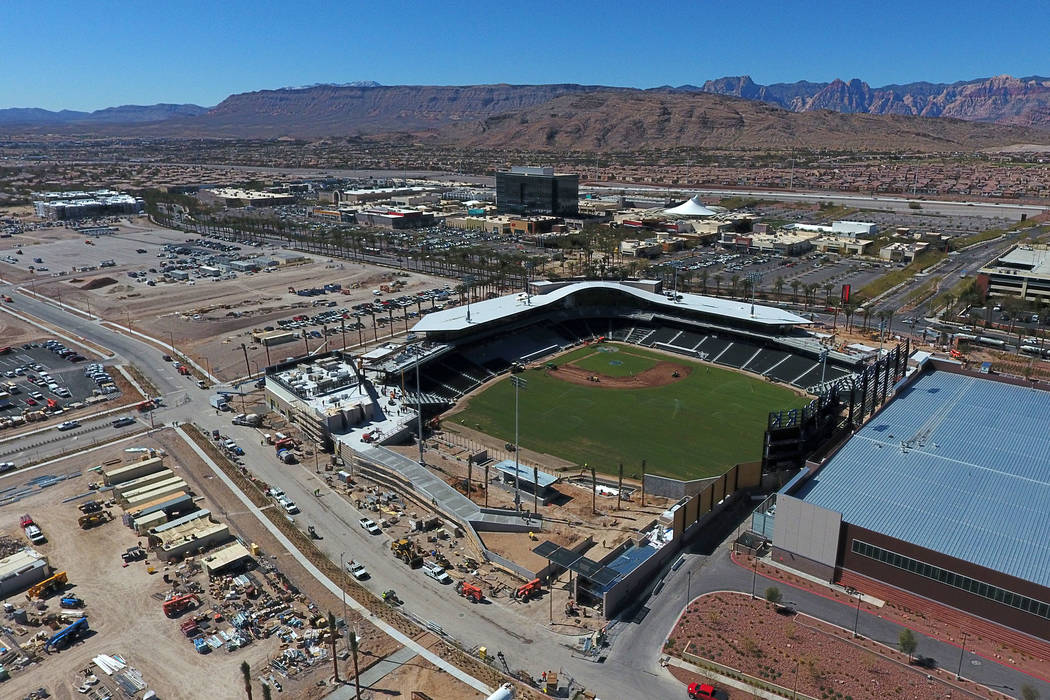 New Las Vegas Ballpark will have free parking for fans | Las Vegas