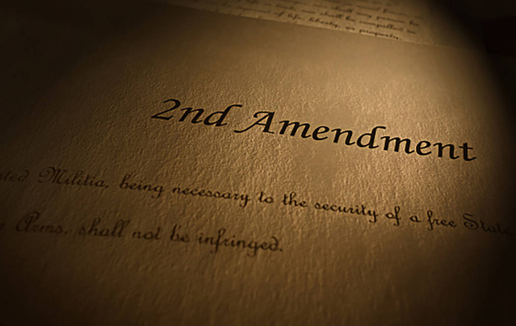 """Thinkstock For decades, """"gun control"""" advocates have, from behind the sturdy shield of the First Amendment, agitated for willful misinterpretation of, or even repeal of, the Second, columnist Thom ..."""