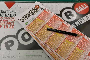 Powerball tickets (The Associated Press)