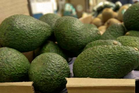In this Jan. 17, 2007 file photo, California-grown avocados are for sale at a market in Mountain View, Calif. (AP Photo/Paul Sakuma, File)