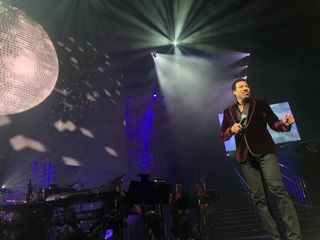 """Lionel Richie performs during the 23rd annual Keep Memory Alive """"Power of Love Gala"""" benefit for the Cleveland Clinic Lou Ruvo Center for Brain Health at MGM Grand Garden Arena on March 16, 2019 i ..."""