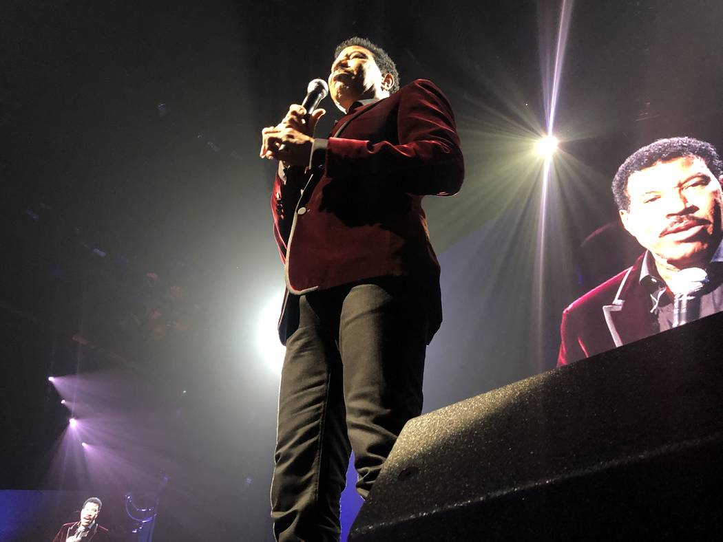 Lionel Richie performs during the 23rd annual Keep Memory Alive 'Power of Love Gala' benefit for the Cleveland Clinic Lou Ruvo Center for Brain Health at MGM Grand Garden Arena on March 16, 2019 i ...