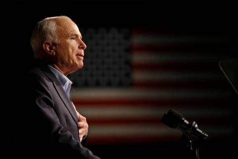 Sen. John McCain. (AP Photo/Gerald Herbert, File)