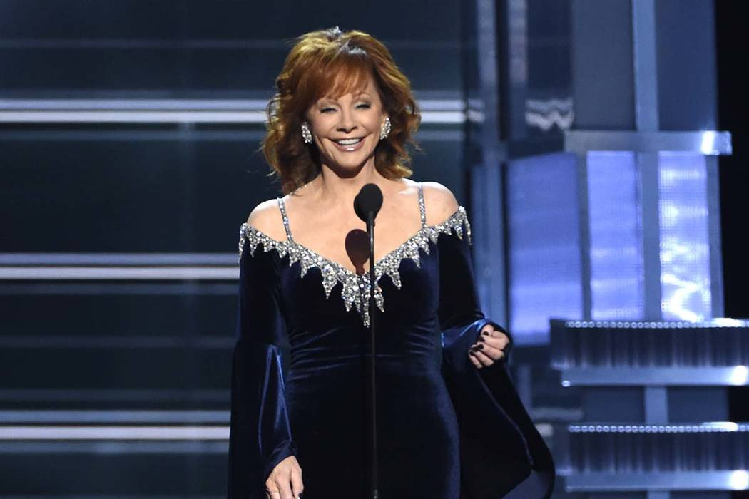Host Reba McEntire returns as the host of the Academy of Country Music Awards on Sunday at the ...