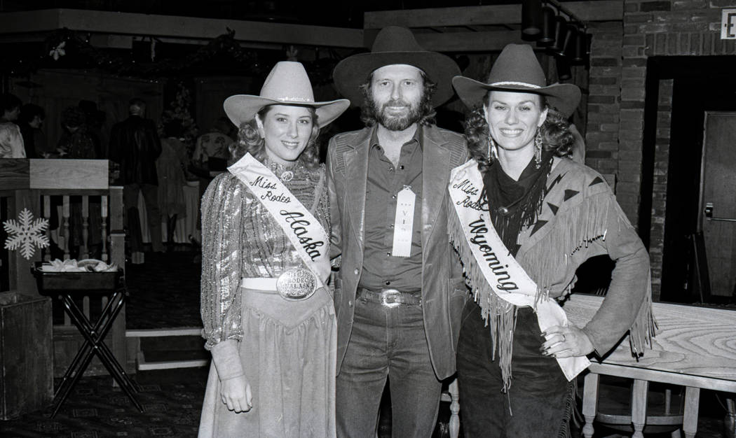 A press party for Miss Rodeo America at Sam's Town in Las Vegas, Nevada on December 9, 1986. M ...