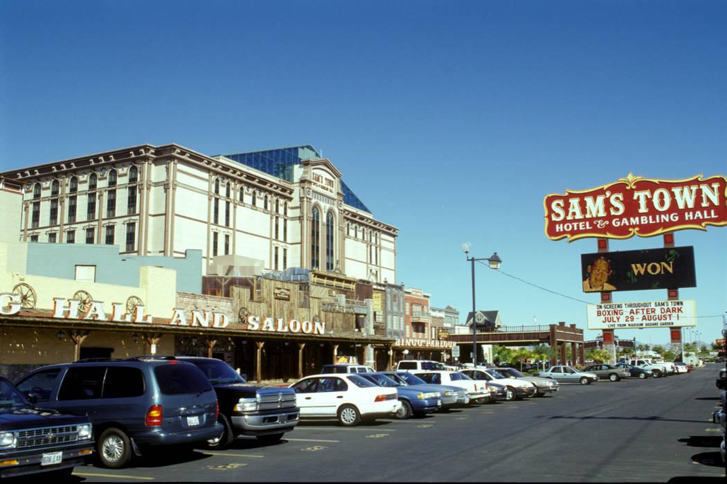 Sam's Town 8/1/1998 Credit: Las Vegas News Bureau