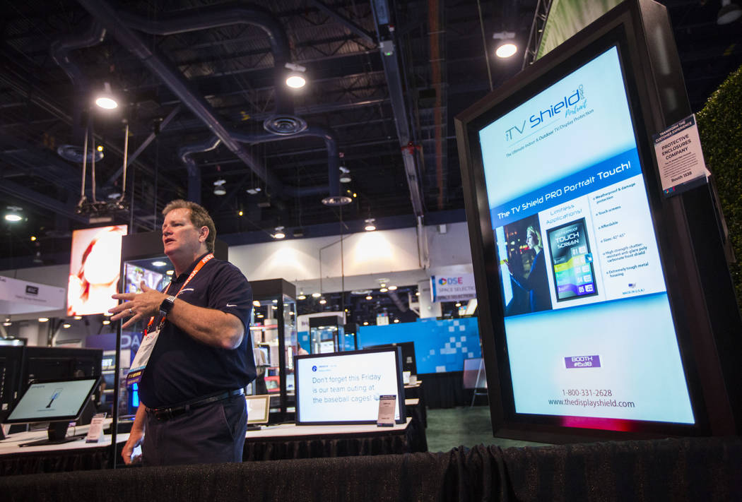 Joe Harrell, executive general manager of The TV Shield and The Display Shield, talks about dif ...