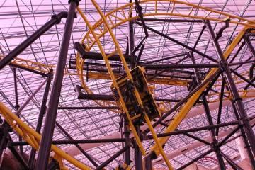 El Loco roller coaster inside the Adventuredome theme park at Circus Circus in Las Vegas. (Erik ...