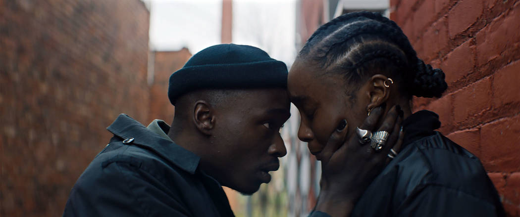 Ashton Sanders, KiKi Layne. photo: HBO