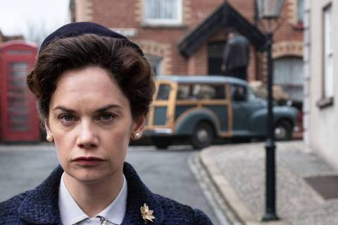 "Ruth Wilson as Alison Wilson in ""Mrs. Wilson"" (Steffan Hill/PBS)"
